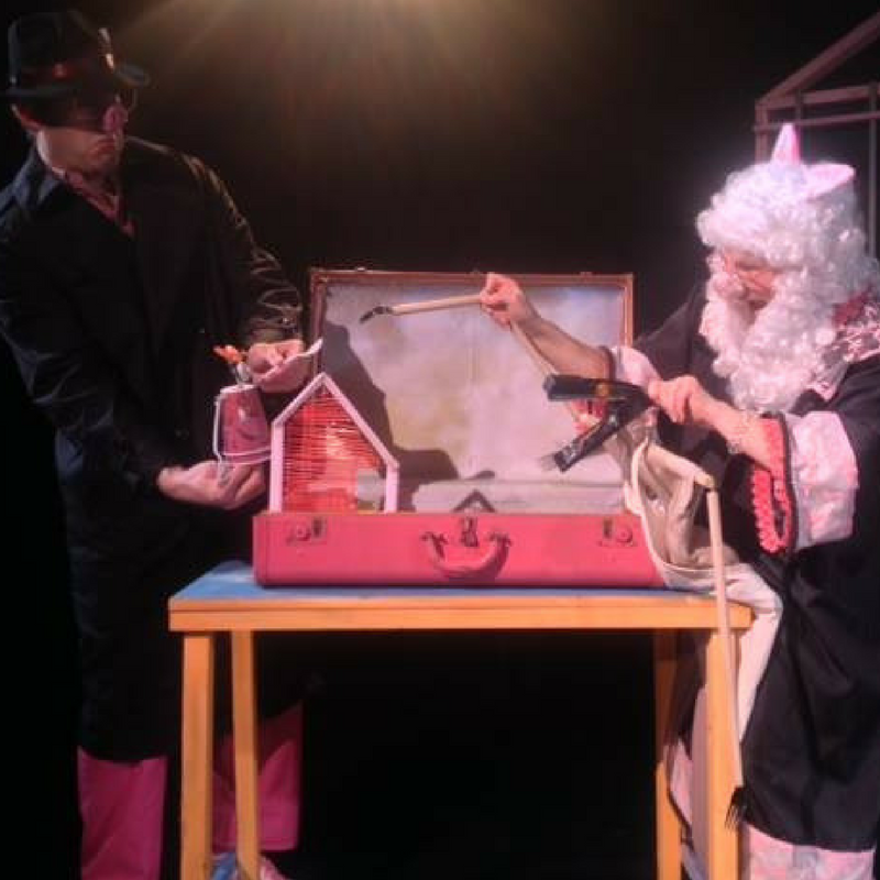 Asheville Creative Arts' presentation of the play that reimagines the story of the 3 little pigs