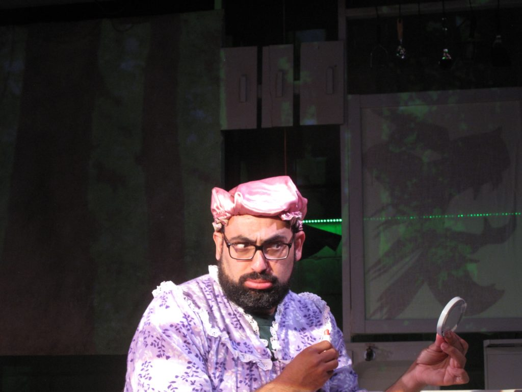 Theater for young audiences in Asheville starring George Awad presented by Asheville Creative Arts