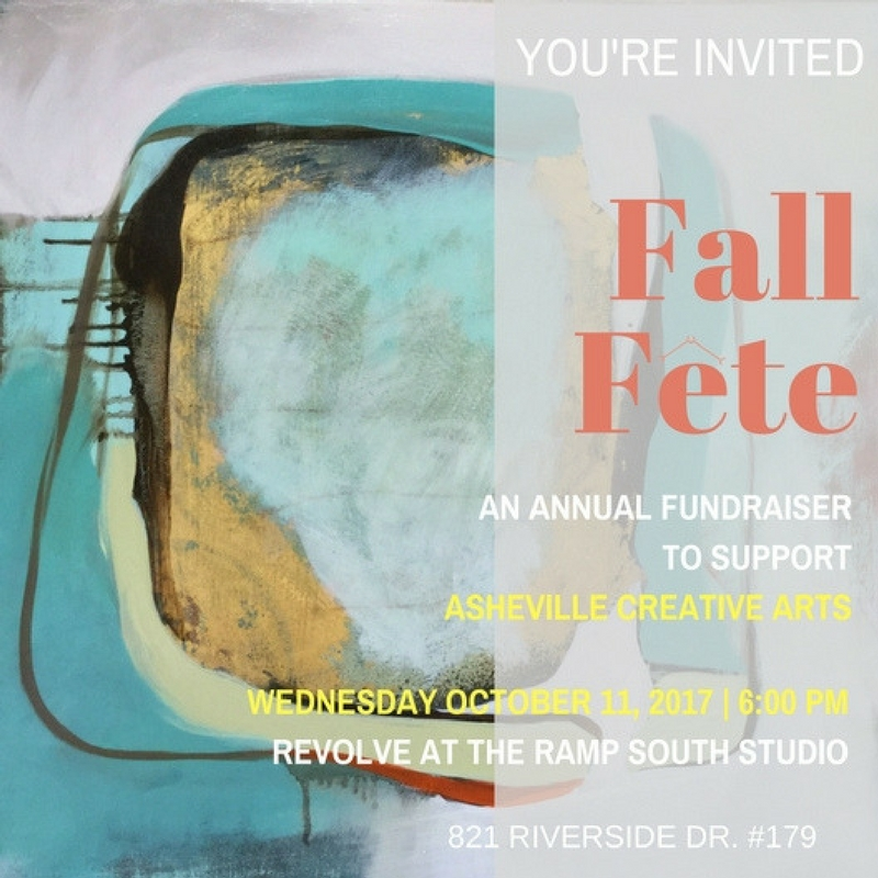 Asheville Creative Arts' annual fall fundraiser to support professional and innovative theater for families!