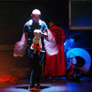 children's theater Asheville presents Bugs with puppets and live music for the whole family