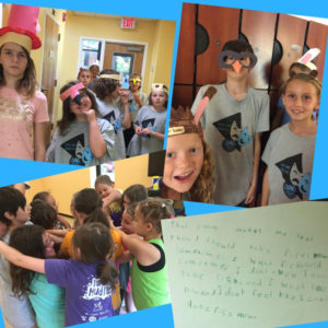 summer camp at Asheville Creative Arts, theater camp for elementary and middle school students