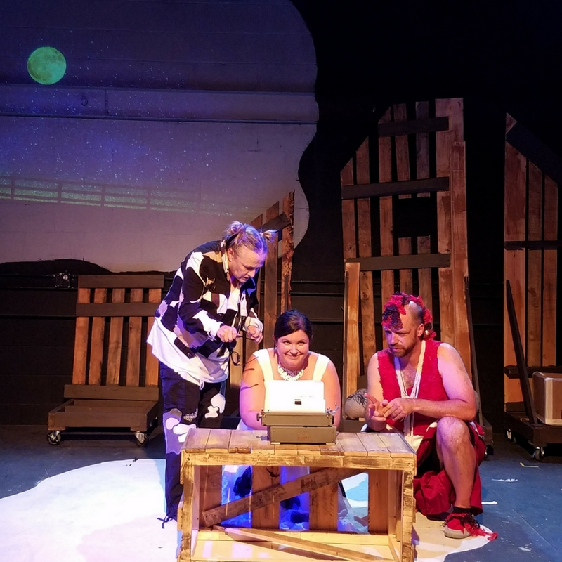 Click, Clack, Moo from Asheville Creative Arts starring Gina Stewart, Katie Jones and Jason Stanley