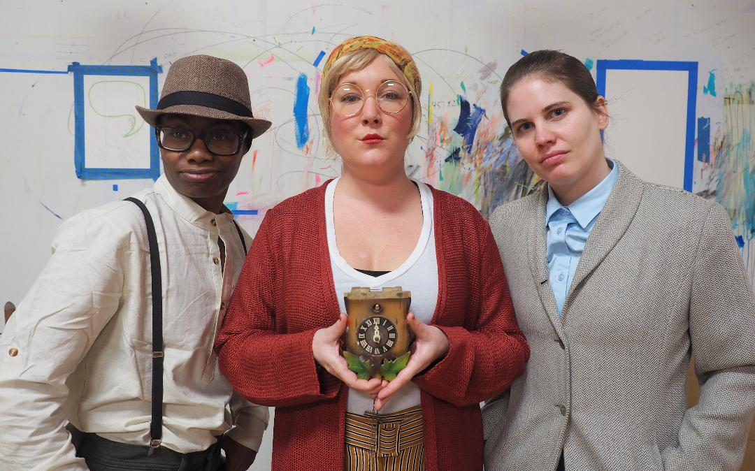 LIFE LESSONS: Daniele Martin, Julia Cunnigham and Kelsey Sewell take audiences on a journey of love, loss and time in Failure: A Love Story, the latest production by Asheville Creative Arts.