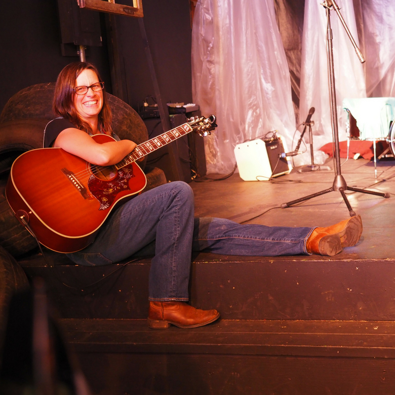 Local Asheville Country Singer makes stage debut in BUGS!