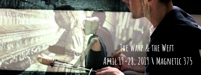puppetry, live music, oral histories in the warp and the weft from asheville's children's theater family entertainment