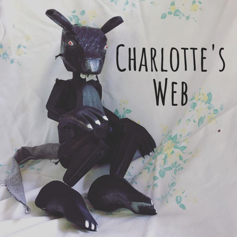 puppetry and live folk music combine in this reimagining of Charlotte's Web